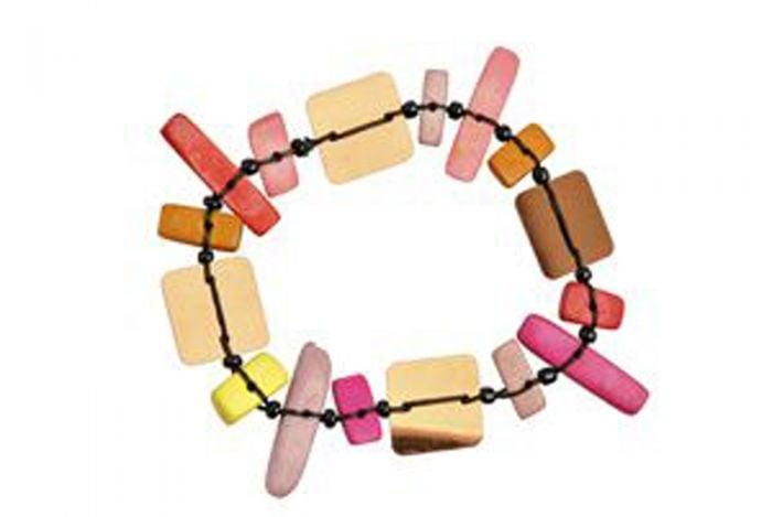 Multihued Rectangles Bracelet