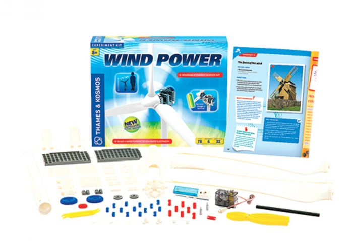 Wind Power Renewable Energy Science Kit.