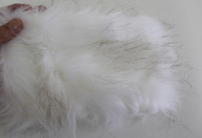 Fox (Arctic) Kind Fur® (Swatch)