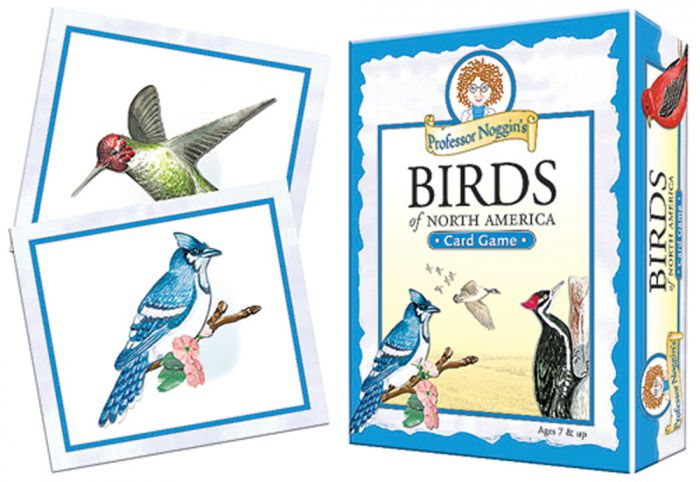 Birds Of North America Card Game (Professor Noggin)