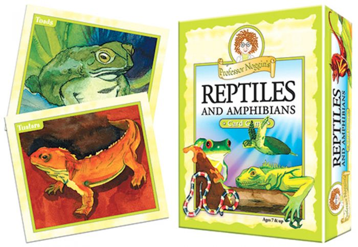 Reptiles And Amphibians Card Game (Professor Noggin).