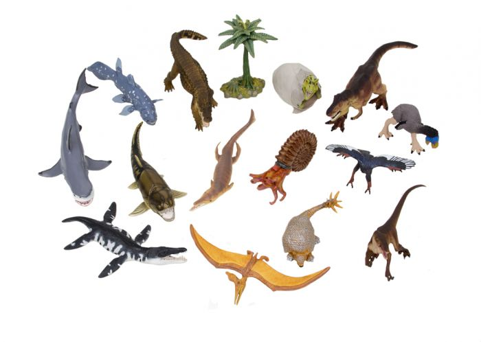 Mesozoic & Cenozoic Life Model Collection (15 Models)