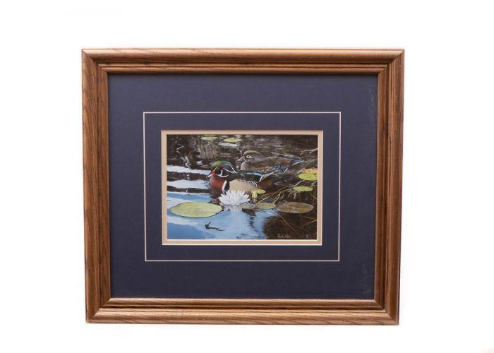 "Mallards ""Reflections of Spring"" Framed Print"