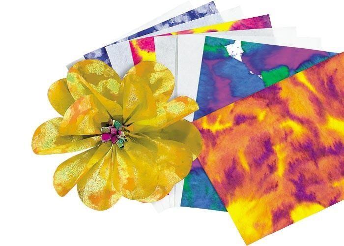 """Color Diffusing Paper (50 sheets, 9"""" x 12"""")"""