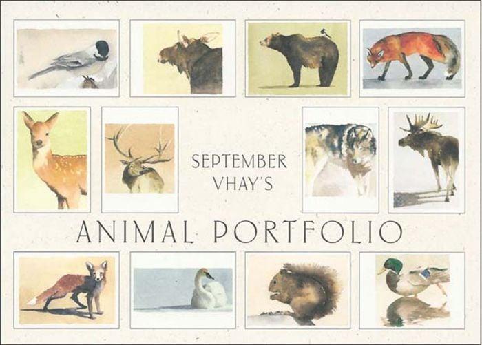Animal Portfolio (Boxed Notecards).