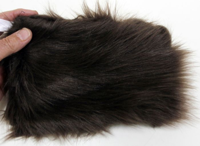 Bear (Black: Brown Phase) Kind Fur® (Swatch)