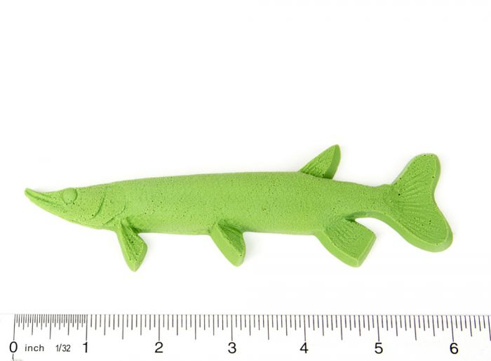 "Pike (Northern) Fish Printing Replica (6"")"
