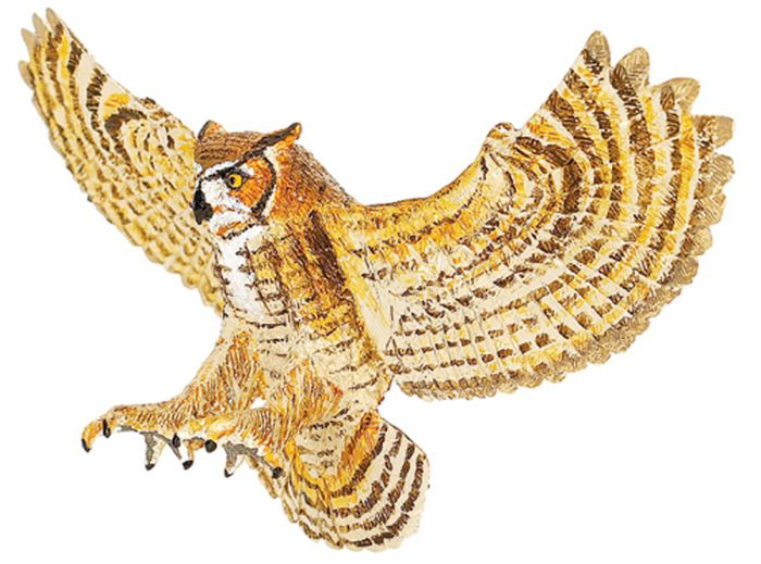 Owl (Great Horned) Model