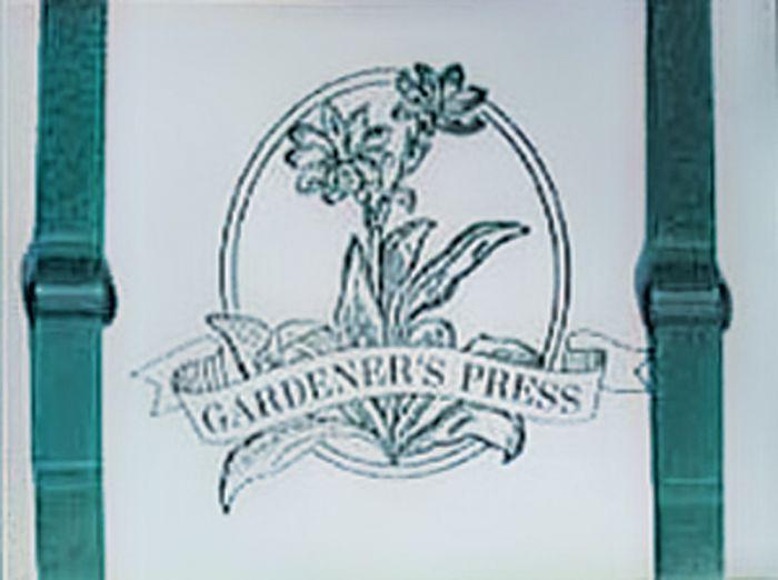 "Gardener'S Press (9"" X 12"")"