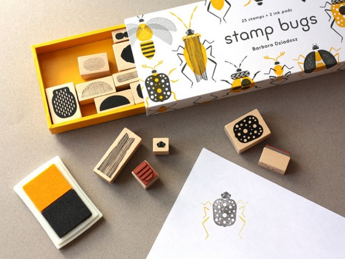 Stamp Bugs: 25 Stamps & Two Ink Pads