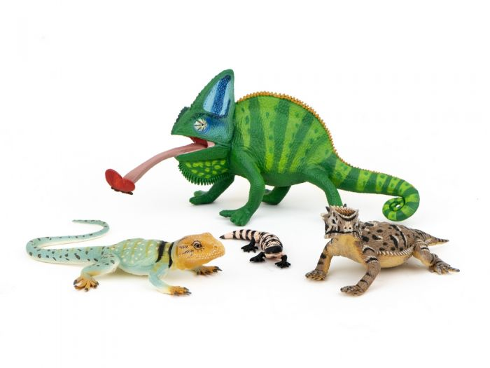 Lizards Model Collection (Discounted Set of 4 Models)