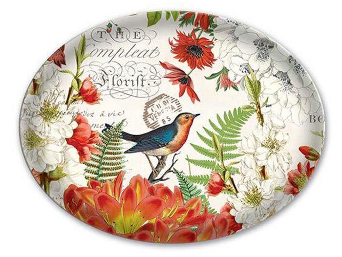 Wildflower Meadow Glass Soap Dish