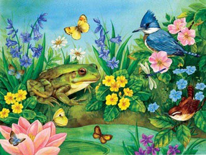 Garden Pond (300 Piece Puzzle)