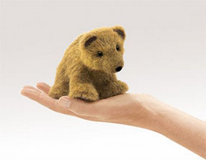 Bear (Grizzly) Finger Puppet