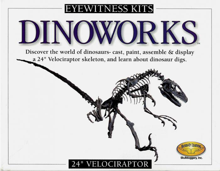 Velociraptor Casting Kit