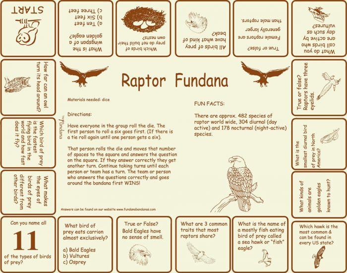 Raptors Scarf (Fundana® Bandana)