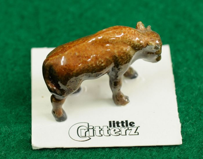 Bison Figurine (Little Critterz™)
