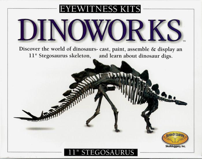 Stegosaurus Casting Kit