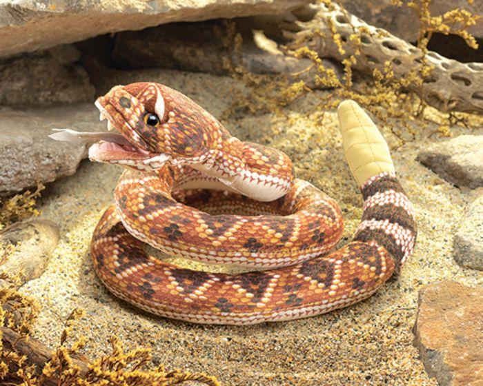 Rattlesnake Puppet