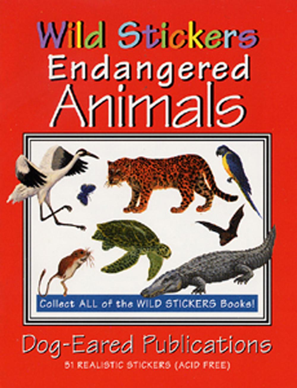 Endangered Animals (Wild Stickers Series)