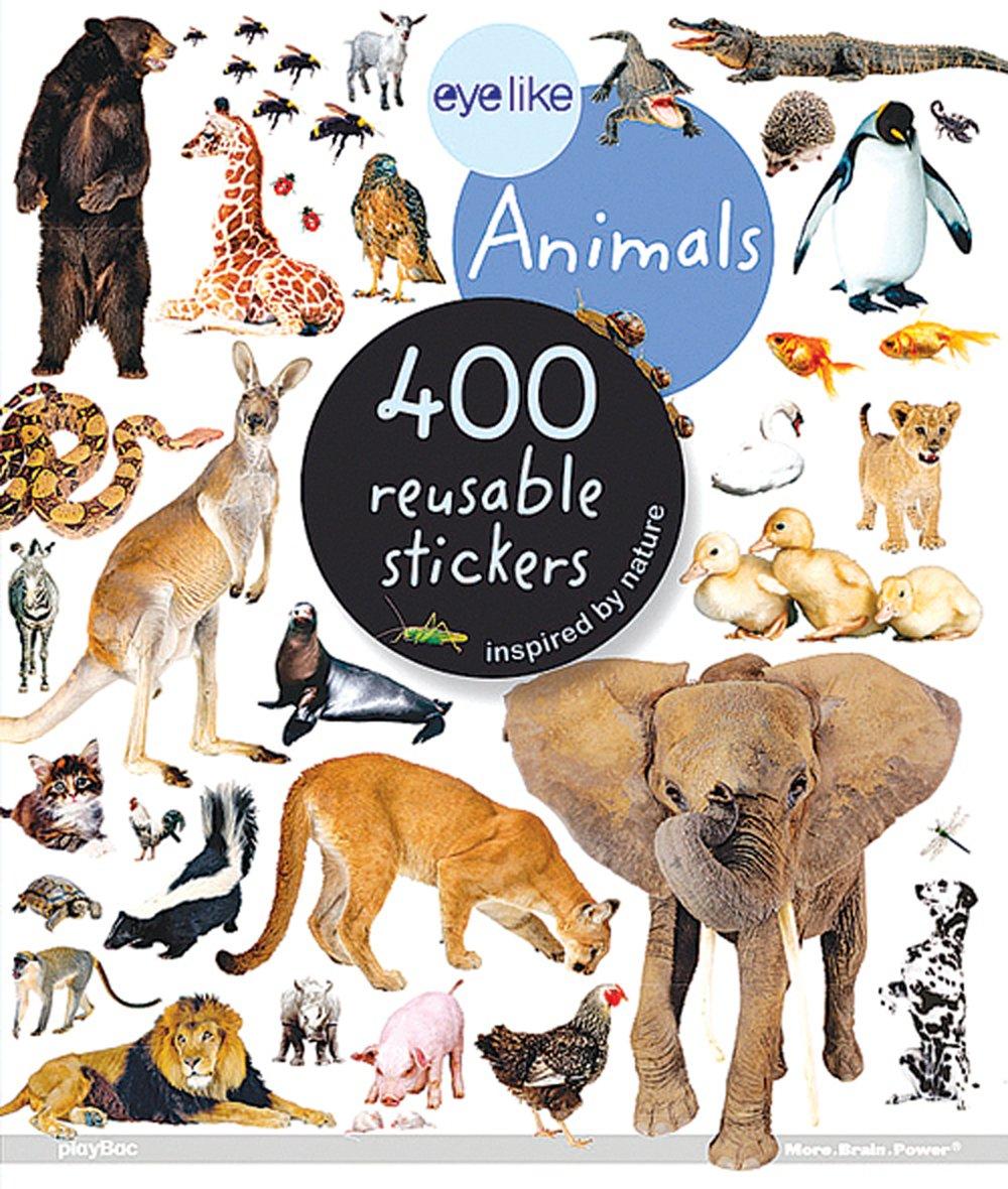 Animals Eyelike Stickers