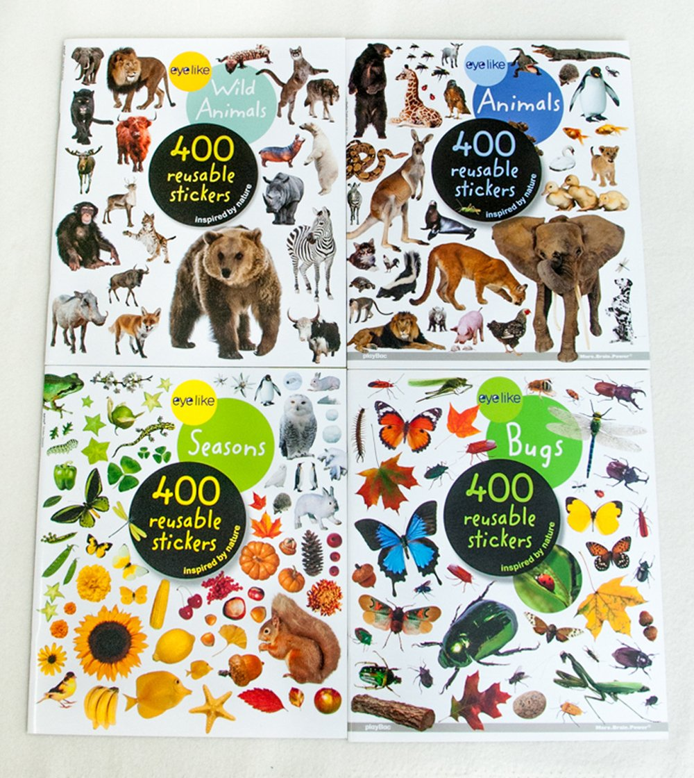 Eyelike Stickers Collection (Discounted Set of 4 Titles)