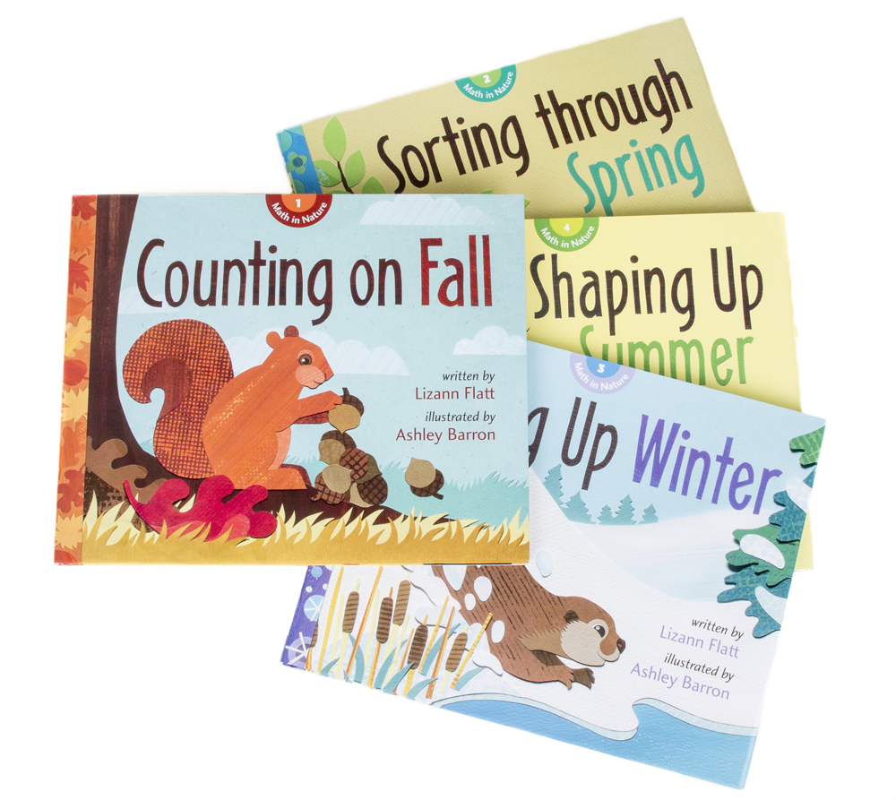 Seasonal Math in Nature Series Collection, Paperback (Discounted Set of 4 Titles)