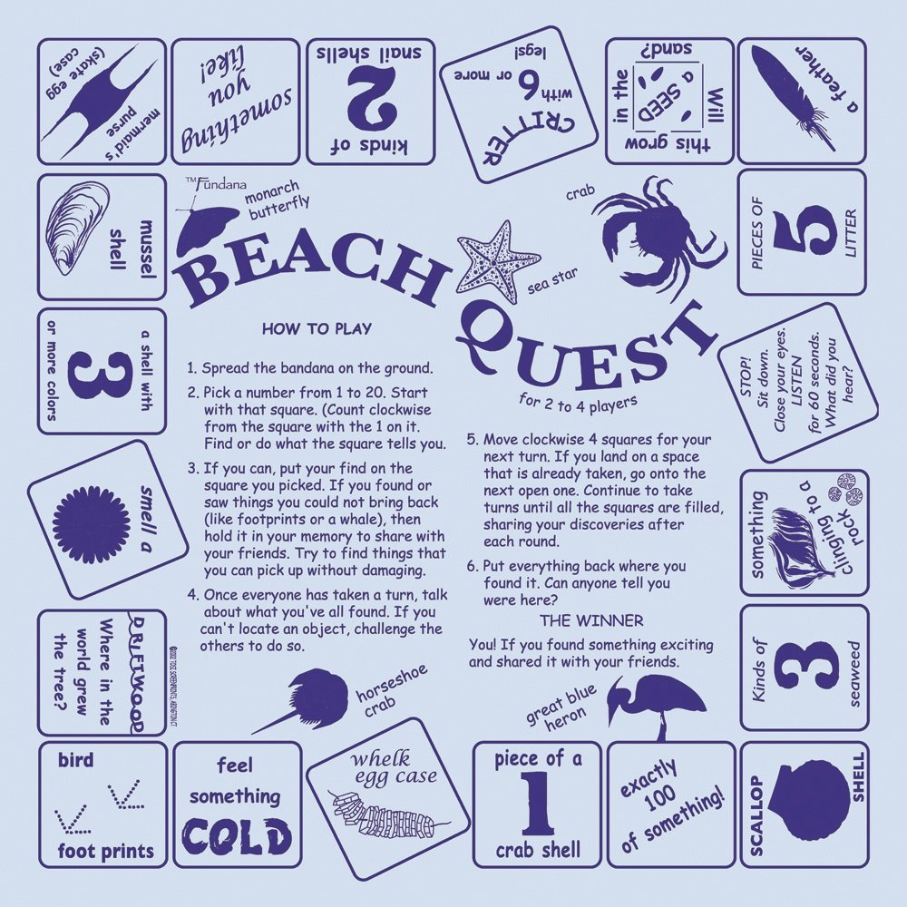 Beach Quest Scarf (Fundana® Bandana)
