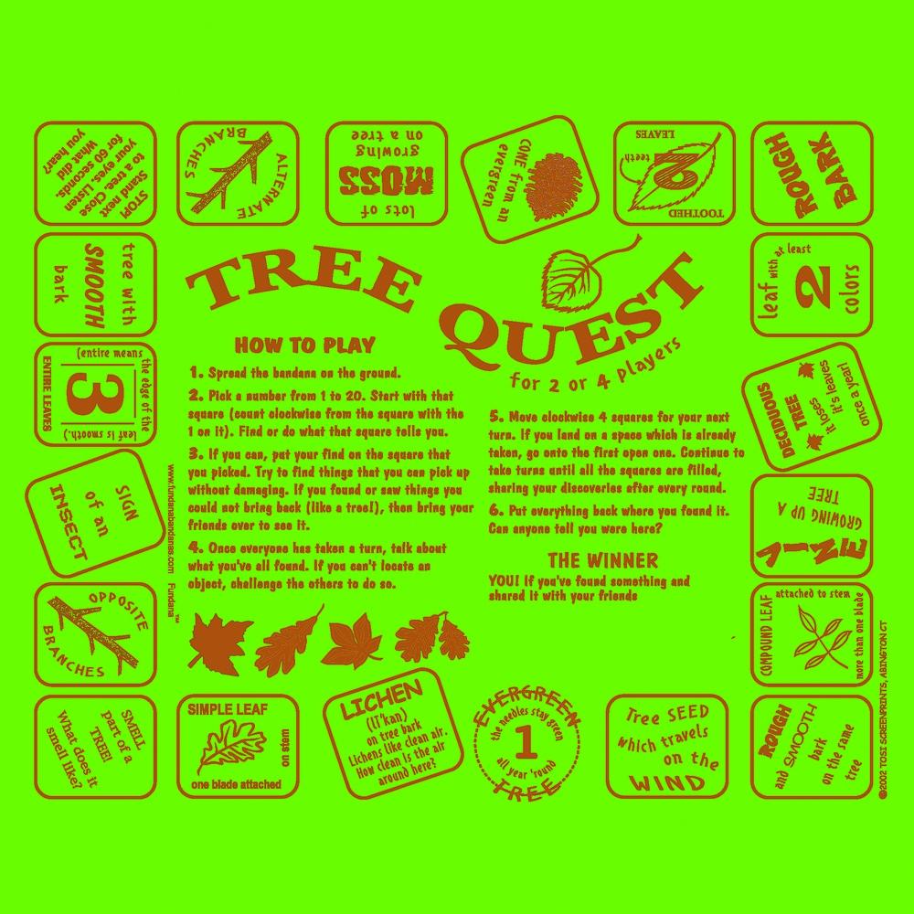 Tree Quest Scarf (Fundana® Bandana)