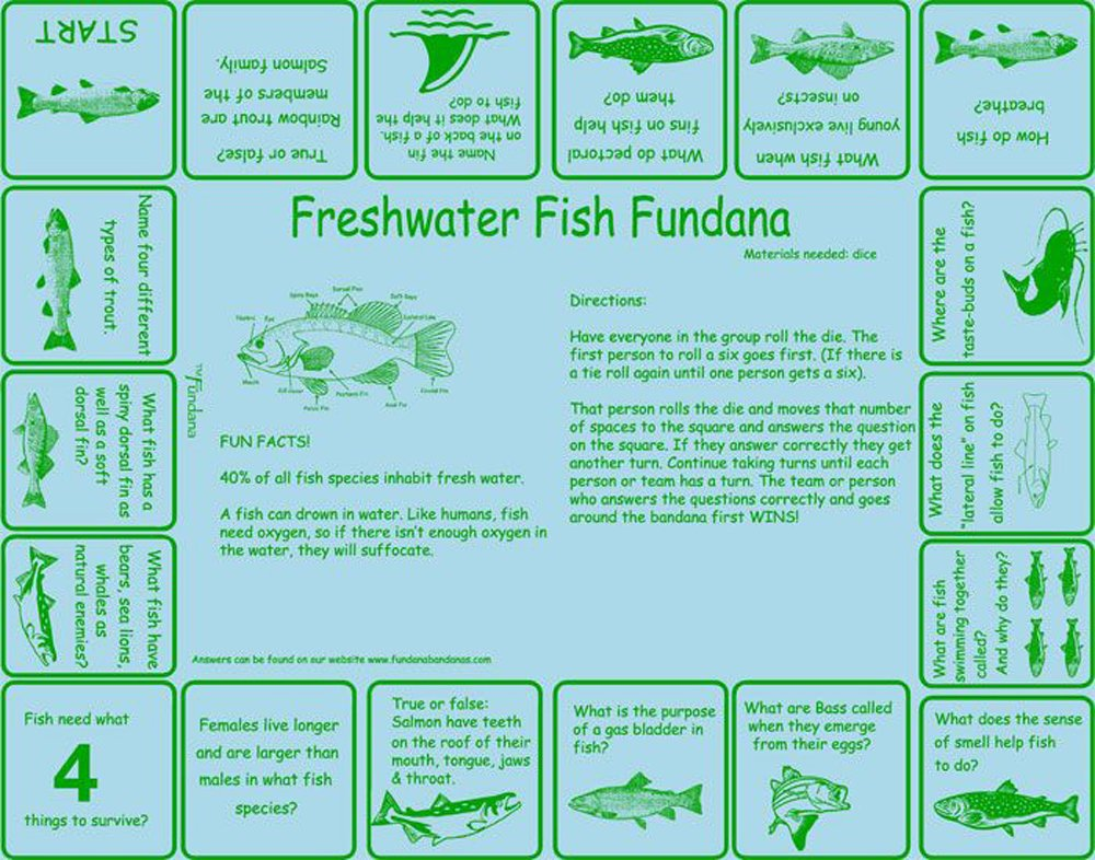 Freshwater Fish (Fundana® Bandana)