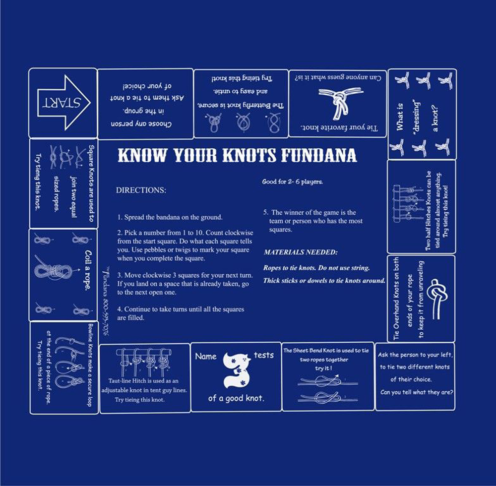 Know Your Knots (Fundana® Bandana)
