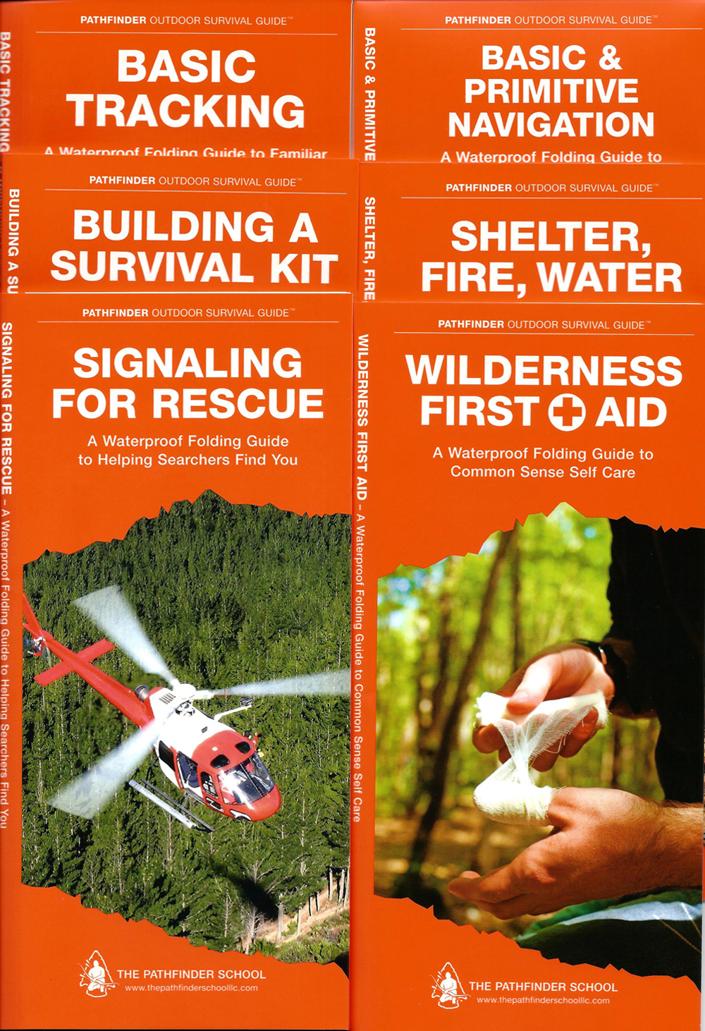 Pathfinder™ Outdoor Survival Guide Collection (Discounted Set of 6 Guides)