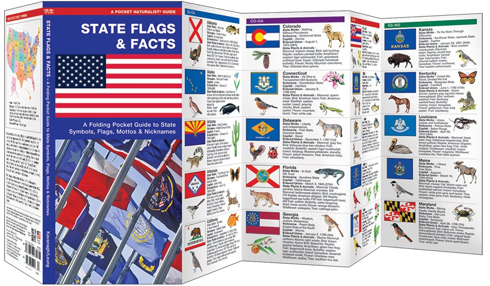State Flags & Facts (Pocket Naturalist® Guide)