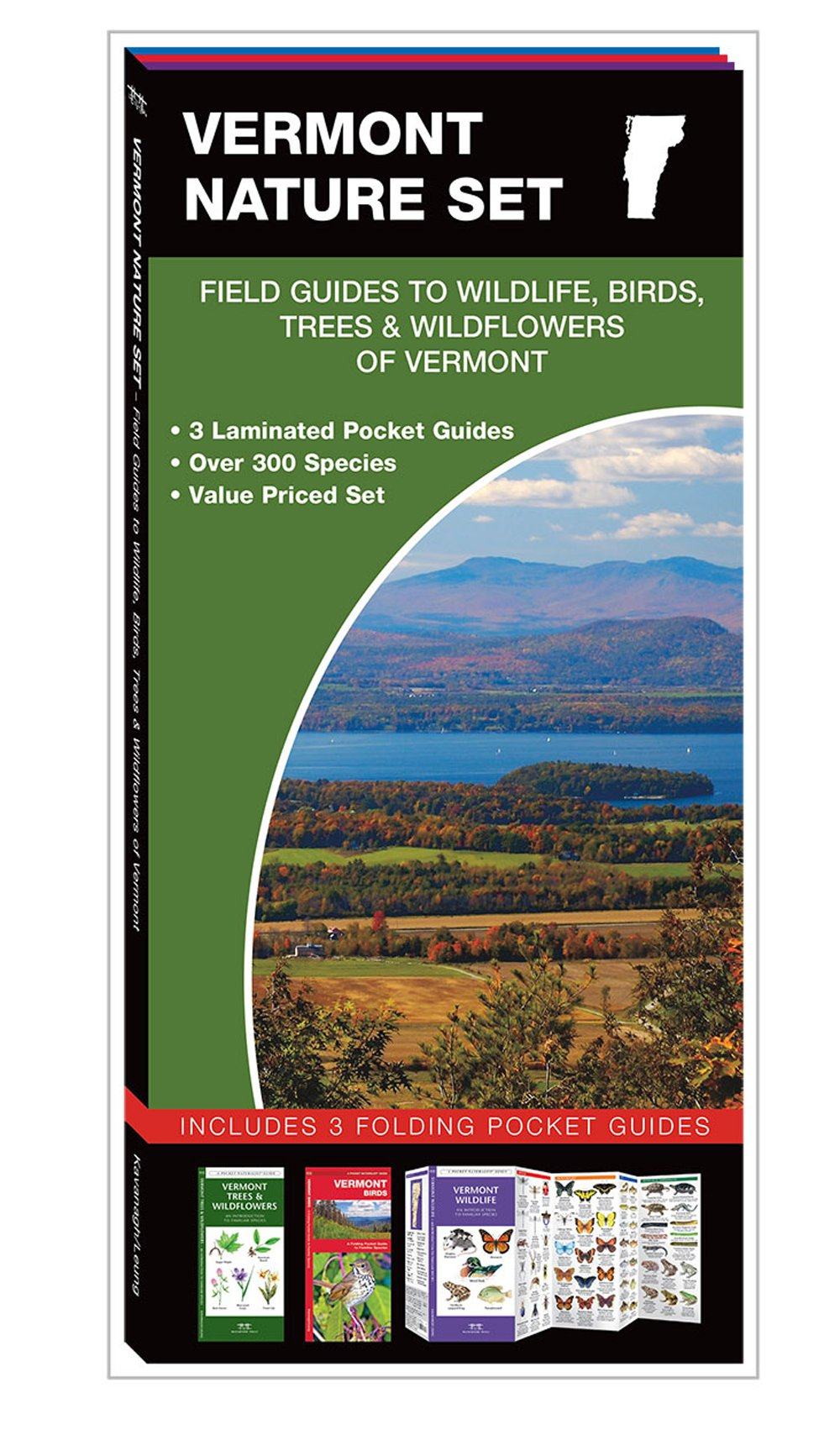 Vermont Nature Set: Field Guides to Wildlife, Birds, Trees & Wildflowers (Pocket Naturalist® Guide Set)
