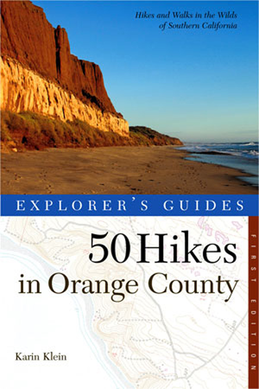 50 Hikes in Orange County (Explorer's Guide)