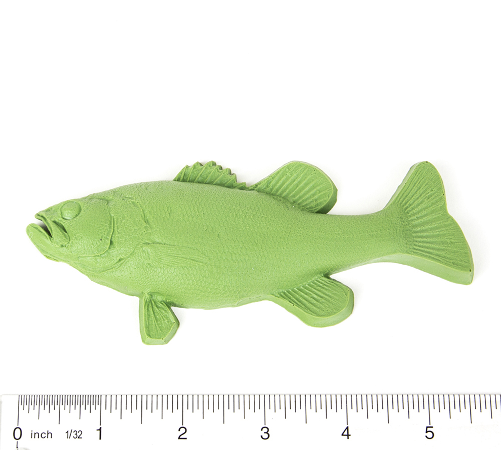 Bass (Largemouth) Fish Printing Replica (Young)