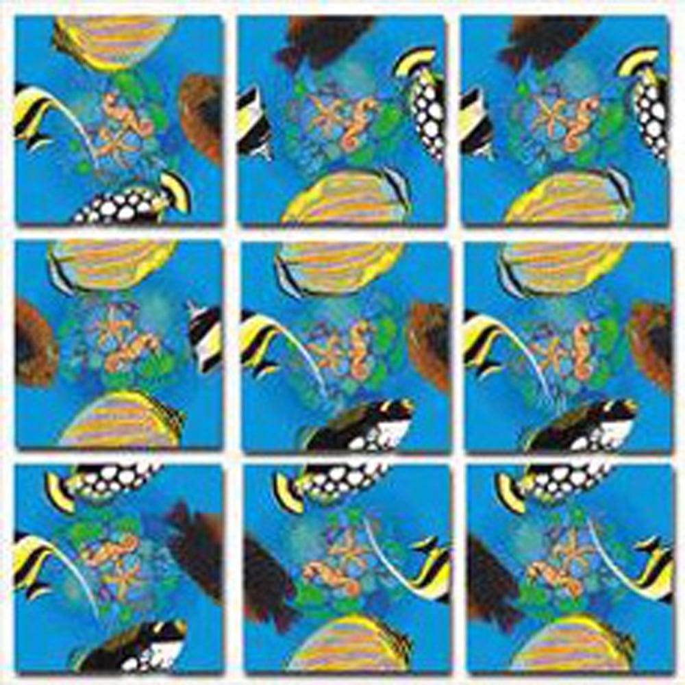 Fish (Tropical) Scramble Squares®