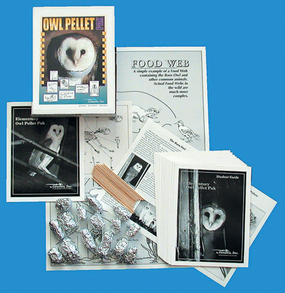 Barn Owl Pellet Kit: Introductory Kit for Grades 3-8