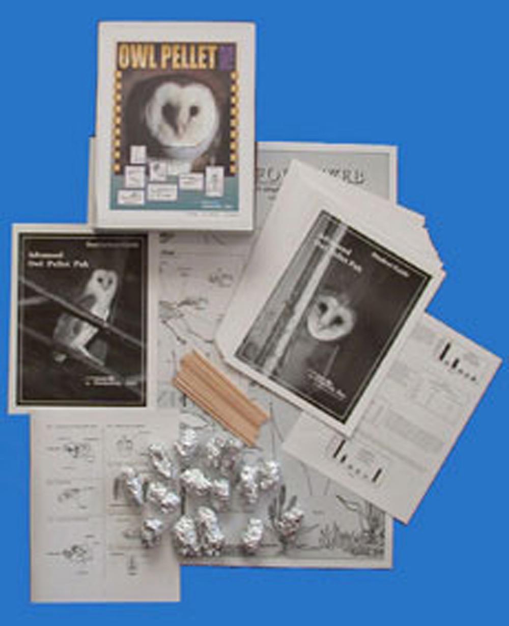 Barn Owl Pellet Kit: Advanced Kit for Grades 9-12