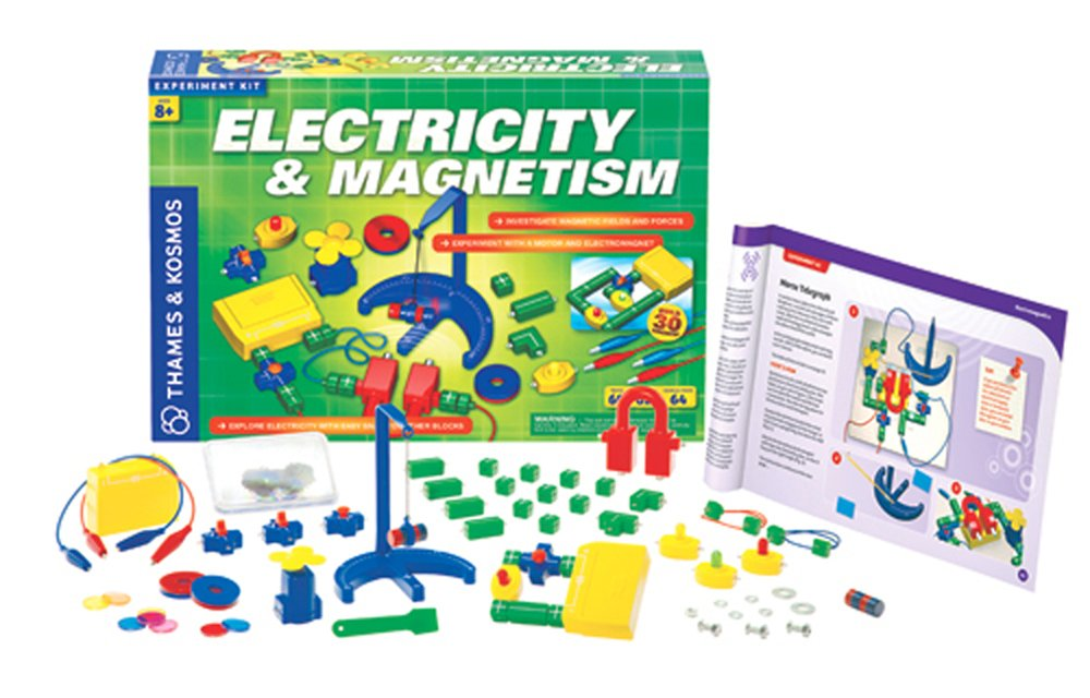 Electricity and Magnetism Activity Kit: Understanding the Force of Electromagnetism