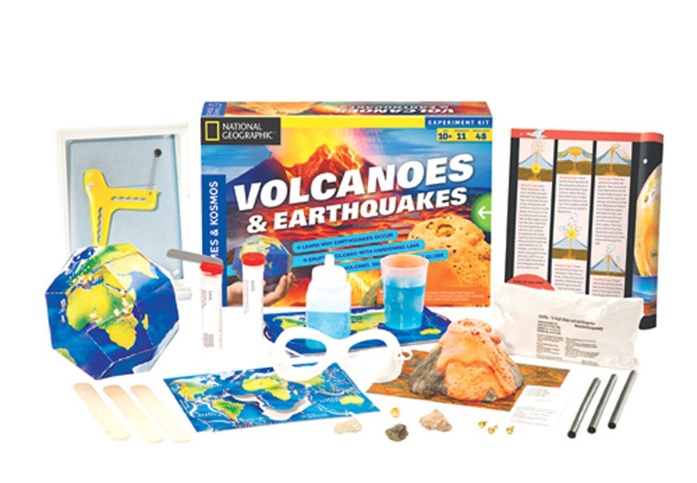 Volcanoes and Earthquakes Activity Kit