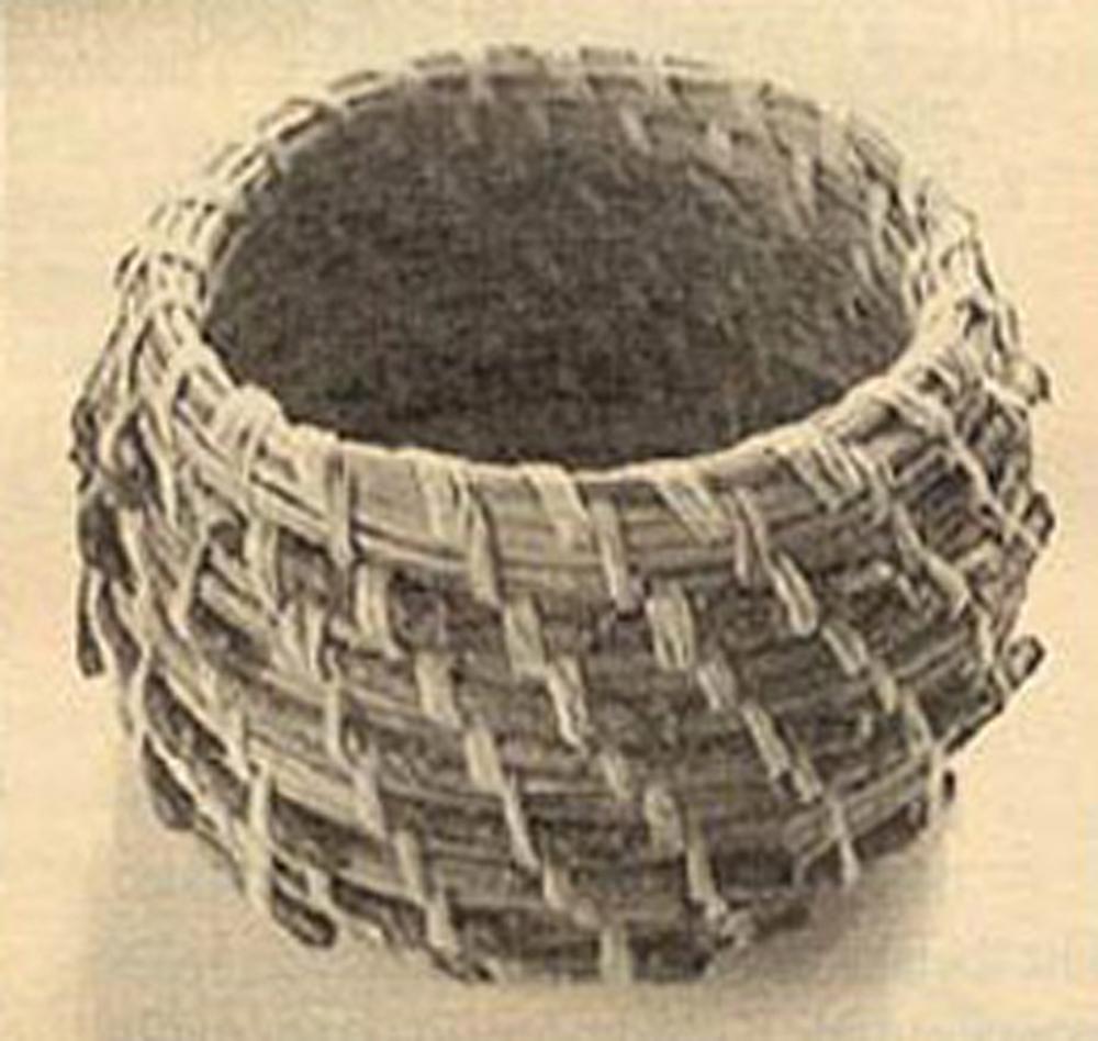 Quick-Start Pine Needle Basket Kit (Round Style)