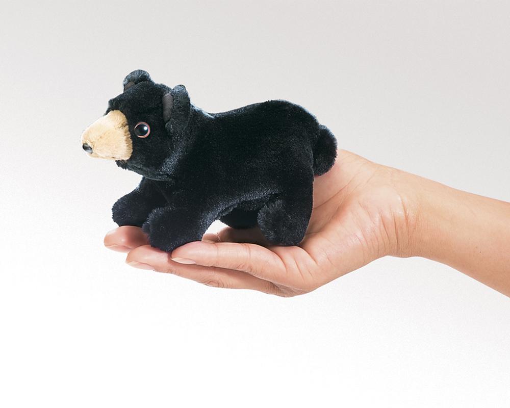 Bear (Black) Finger Puppet