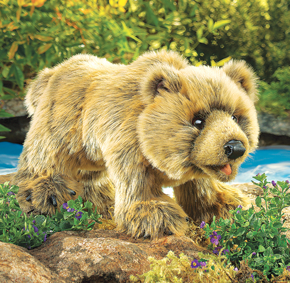 Bear (Grizzly) Puppet