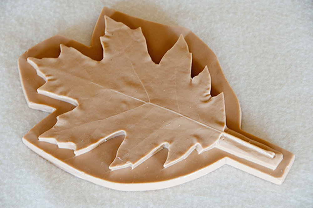 Oak (Red) Leaf Replica, 9""