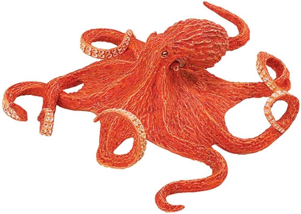Octopus (Orange) Model
