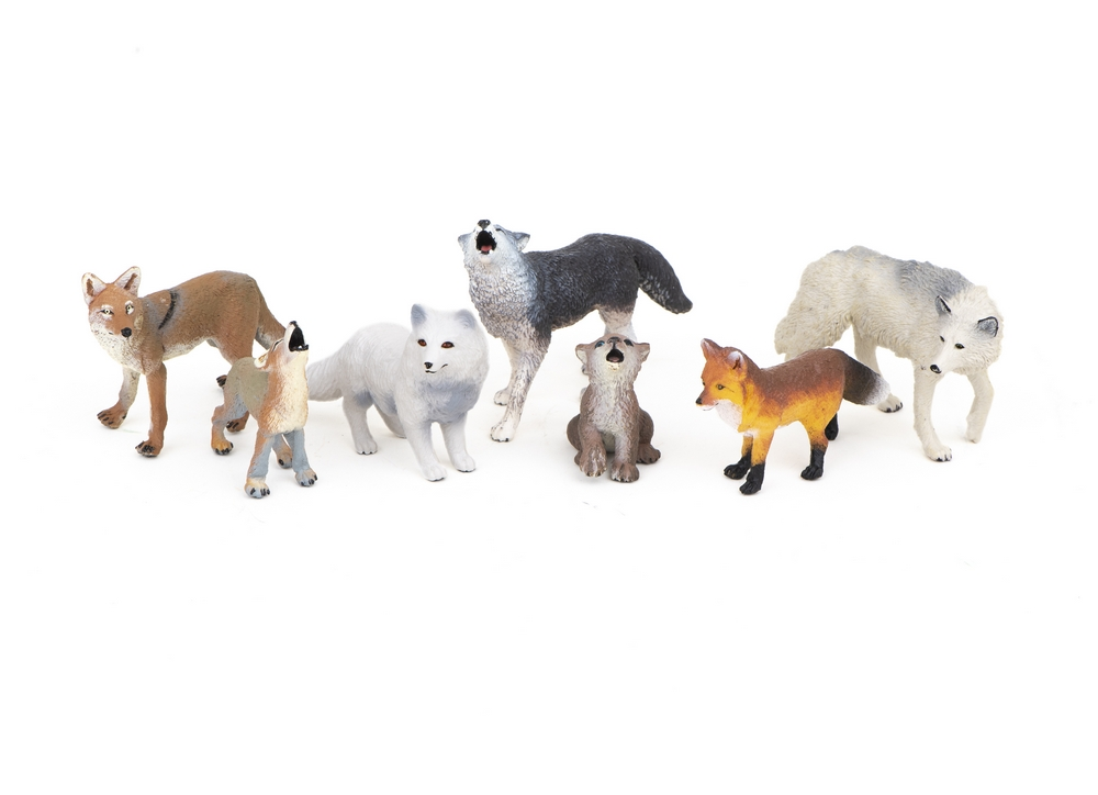 Canines (Dog Family) Model Collection (Discounted Set of 7 Models)