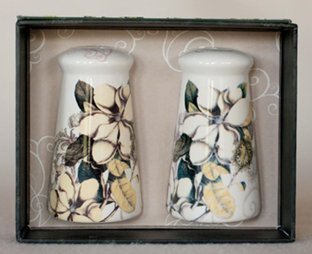 Magnolia Belle Salt & Pepper Shaker Set