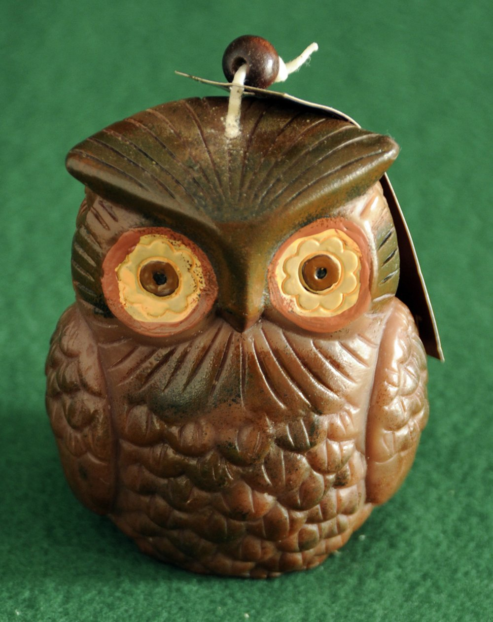 Owl Shaped Candle