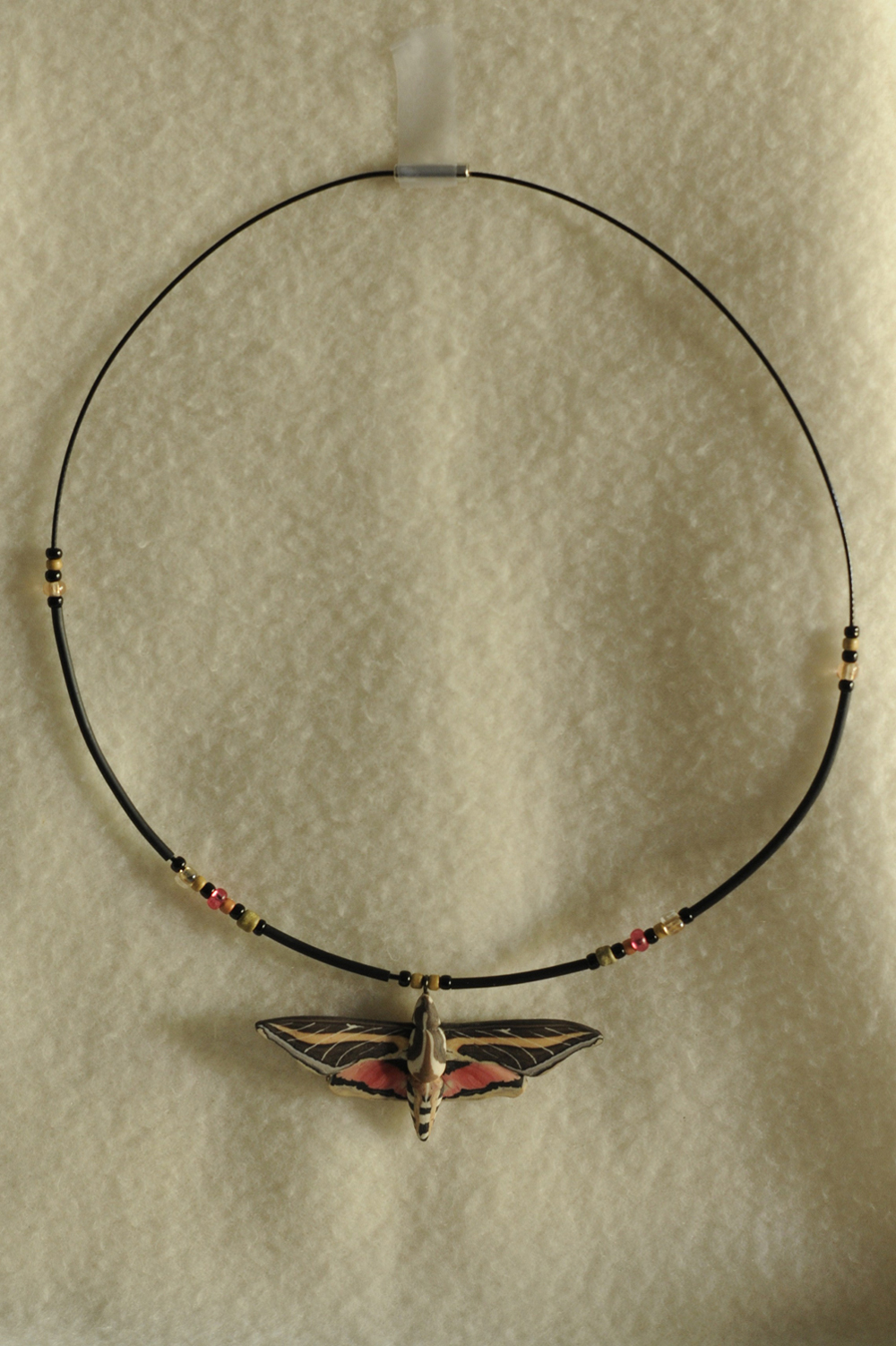 Yipes Sphinx Moth Necklace